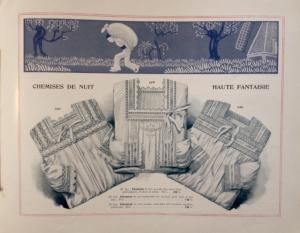 EXPOSITION annuelle de BLANC - 1912 (interno)